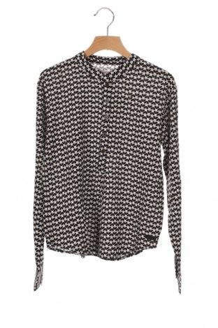 Детска блуза Boboli, Размер 11-12y/ 152-158 см, Цвят Черен, Вискоза, Цена 28,56лв.