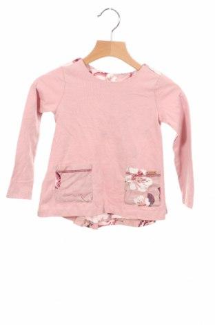 Детска блуза Firetrap, Размер 18-24m/ 86-98 см, Цвят Розов, Памук, Цена 38,35лв.