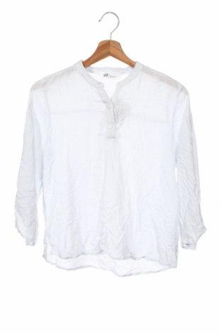 Детска блуза H&M, Размер 13-14y/ 164-168 см, Цвят Син, Вискоза, Цена 7,56лв.