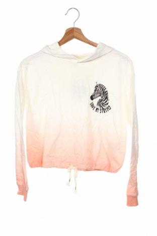 Детска блуза H&M, Размер 11-12y/ 152-158 см, Цвят Бял, Памук, Цена 12,76лв.