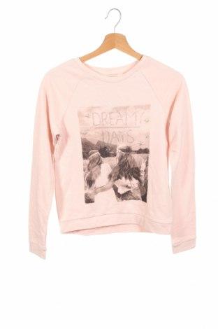 Детска блуза H&M, Размер 12-13y/ 158-164 см, Цвят Розов, 96% памук, 4% еластан, Цена 14,28лв.