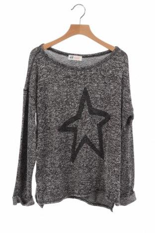 Детска блуза H&M, Размер 12-13y/ 158-164 см, Цвят Сив, Цена 4,99лв.