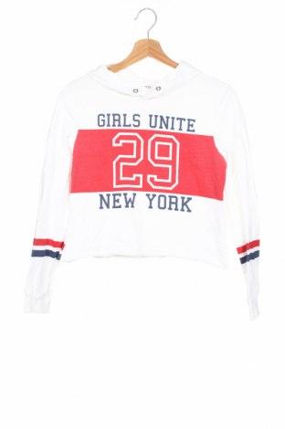 Детска блуза H&M, Размер 12-13y/ 158-164 см, Цвят Бял, Памук, Цена 16,17лв.