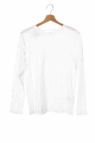 Детска блуза H&M, Размер 12-13y/ 158-164 см, Цвят Бял, Памук, Цена 4,73лв.