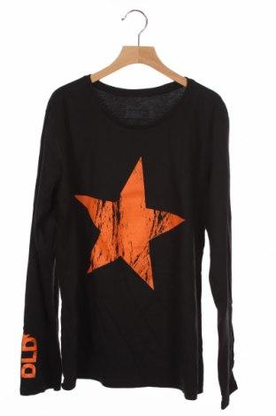 Детска блуза Hanes, Размер 12-13y/ 158-164 см, Цвят Черен, Памук, Цена 6,62лв.