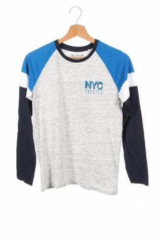 Детска блуза Here+There, Размер 12-13y/ 158-164 см, Цвят Сив, 97% памук, 3% вискоза, Цена 7,14лв.