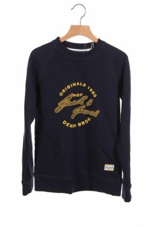 Детска блуза Jack & Jones, Размер 10-11y/ 146-152 см, Цвят Син, 100% памук, Цена 29,25лв.