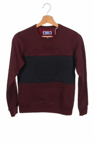Детска блуза Jack & Jones, Размер 10-11y/ 146-152 см, Цвят Червен, 65% памук, 35% полиестер, Цена 27,30лв.