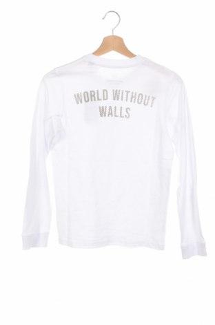 Детска блуза Jack & Jones, Размер 11-12y/ 152-158 см, Цвят Бял, Памук, Цена 26,52лв.