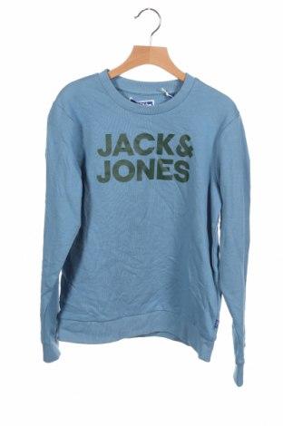 Детска блуза Jack & Jones, Размер 10-11y/ 146-152 см, Цвят Син, 100% памук, Цена 26,52лв.