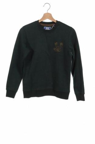 Детска блуза Jack & Jones, Размер 11-12y/ 152-158 см, Цвят Зелен, 74% полиестер, 26% памук, Цена 21,45лв.