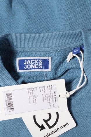 Детска блуза Jack & Jones, Размер 11-12y/ 152-158 см, Цвят Син, Памук, Цена 19,50лв.
