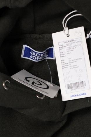 Детска блуза Jack & Jones, Размер 10-11y/ 146-152 см, Цвят Зелен, 50% памук, 50% полиестер, Цена 29,25лв.
