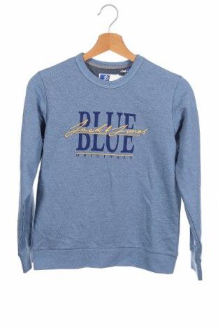 Детска блуза Jack & Jones, Размер 10-11y/ 146-152 см, Цвят Син, 65% полиестер, 30% памук, други тъкани, Цена 25,35лв.