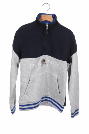 Детска блуза Jack & Jones, Размер 11-12y/ 152-158 см, Цвят Сив, 65% полиестер, 35% памук, Цена 25,35лв.
