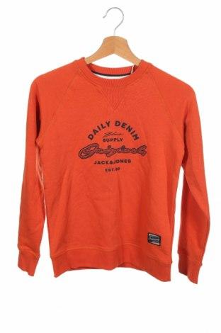 Детска блуза Jack & Jones, Размер 10-11y/ 146-152 см, Цвят Оранжев, 100% памук, Цена 29,25лв.