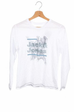Детска блуза Jack & Jones, Размер 10-11y/ 146-152 см, Цвят Бял, 100% памук, Цена 26,52лв.