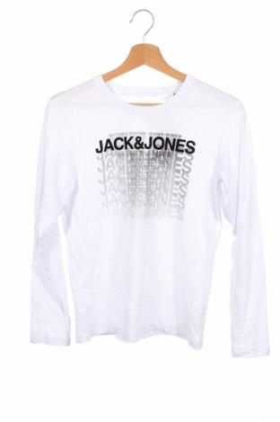 Детска блуза Jack & Jones, Размер 10-11y/ 146-152 см, Цвят Бял, 100% памук, Цена 27,30лв.