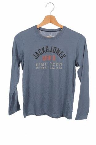 Детска блуза Jack & Jones, Размер 10-11y/ 146-152 см, Цвят Син, 100% памук, Цена 25,35лв.