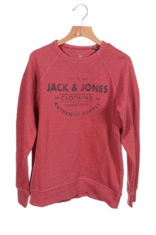 Детска блуза Jack & Jones, Размер 10-11y/ 146-152 см, Цвят Червен, 100% памук, Цена 26,52лв.
