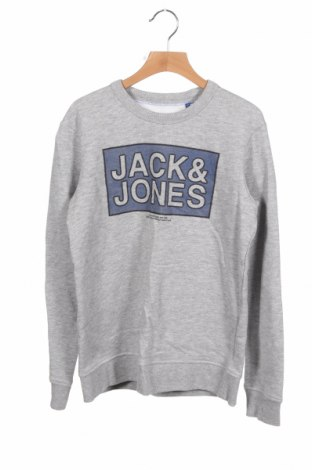 Детска блуза Jack & Jones, Размер 10-11y/ 146-152 см, Цвят Сив, 93% памук, 7% вискоза, Цена 27,30лв.