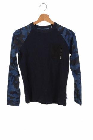 Детска блуза Jack & Jones, Размер 11-12y/ 152-158 см, Цвят Син, Памук, Цена 25,35лв.