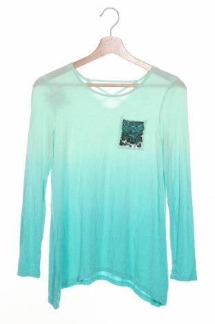 Детска блуза Justice, Размер 11-12y/ 152-158 см, Цвят Син, 95% вискоза, 5% еластан, Цена 10,40лв.