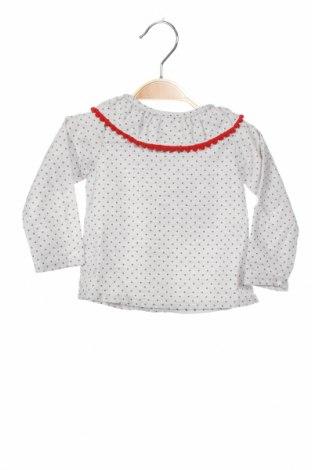 Детска блуза Lola Palacios, Размер 3-6m/ 62-68 см, Цвят Сив, 50% памук, 50% полиестер, Цена 29,40лв.