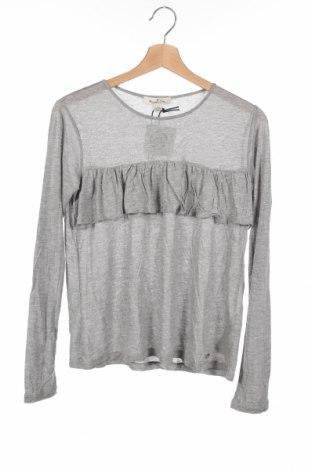 Детска блуза Massimo Dutti, Размер 12-13y/ 158-164 см, Цвят Сив, 99% вискоза, 1% метални нишки, Цена 29,25лв.
