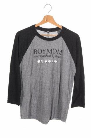 Детска блуза Next Level Apparel, Размер 14-15y/ 168-170 см, Цвят Сив, 50% полиестер, 25% памук, 25% вискоза, Цена 6,25лв.