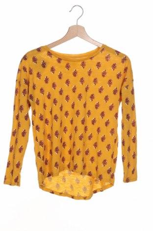 Детска блуза Old Navy, Размер 11-12y/ 152-158 см, Цвят Жълт, Памук, Цена 3,94лв.