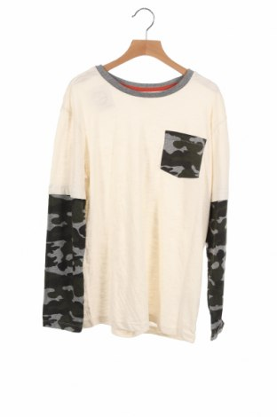Детска блуза Old Navy, Размер 14-15y/ 168-170 см, Цвят Екрю, 60% памук, 40% полиестер, Цена 15,17лв.
