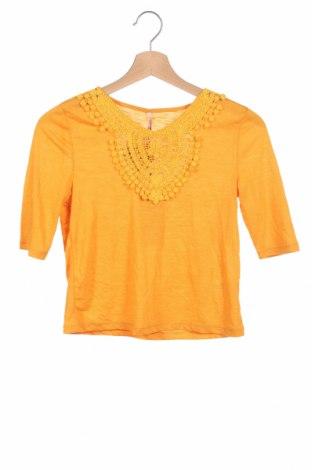 Детска блуза Only, Размер 6-7y/ 122-128 см, Цвят Жълт, Цена 19,80лв.