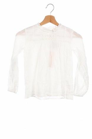 Детска блуза Only, Размер 6-7y/ 122-128 см, Цвят Бял, Цена 24,48лв.