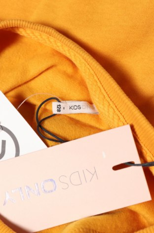 Детска блуза Only, Размер 6-7y/ 122-128 см, Цвят Жълт, 95% памук, 5% вискоза, Цена 23,12лв.