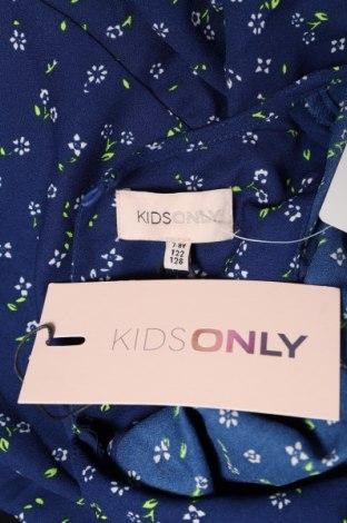 Детска блуза Only, Размер 6-7y/ 122-128 см, Цвят Син, Полиестер, Цена 23,80лв.