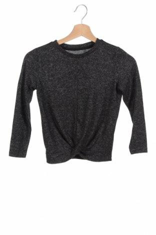 Детска блуза Only, Размер 6-7y/ 122-128 см, Цвят Сив, 55% вискоза, 42% полиестер, 3% еластан, Цена 24,48лв.