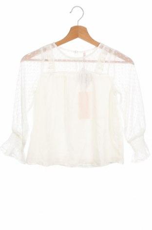 Детска блуза Only, Размер 6-7y/ 122-128 см, Цвят Бял, Полиестер, Цена 18,00лв.