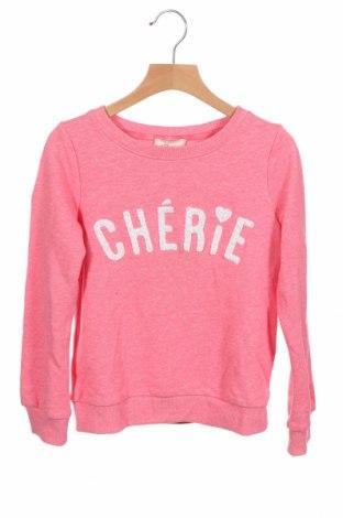 Детска блуза Only Kids, Размер 6-7y/ 122-128 см, Цвят Розов, 60% полиестер, 40% памук, Цена 27,30лв.