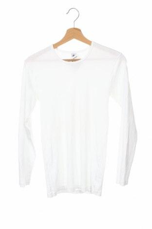Детска блуза Petit Bateau, Размер 15-18y/ 170-176 см, Цвят Сив, Памук, Цена 20,48лв.
