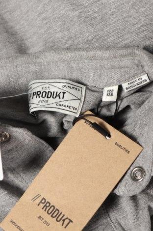 Детска блуза Produkt by Jack & Jones, Размер 6-7y/ 122-128 см, Цвят Сив, 95% памук, 5% еластан, Цена 36,75лв.