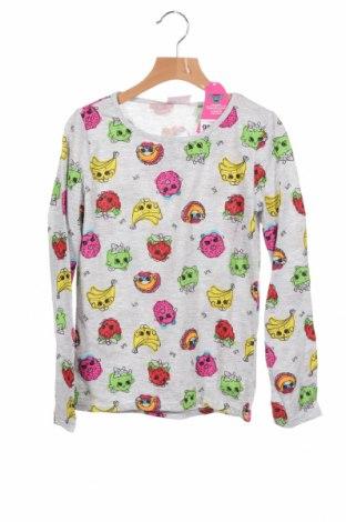 Детска блуза Shopkins, Размер 8-9y/ 134-140 см, Цвят Сив, Цена 22,80лв.