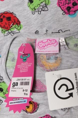 Детска блуза Shopkins, Размер 8-9y/ 134-140 см, Цвят Сив, Цена 19,00лв.