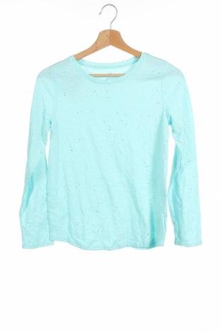 Детска блуза So, Размер 13-14y/ 164-168 см, Цвят Син, 60% памук, 40% полиестер, Цена 5,88лв.