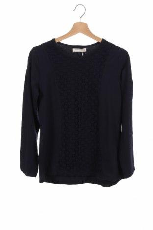 Детска блуза Zara, Размер 12-13y/ 158-164 см, Цвят Син, 95% памук, 5% еластан, Цена 10,29лв.