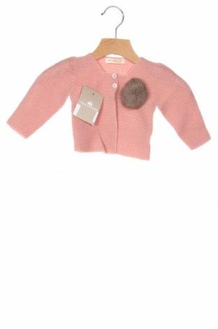 Παιδική ζακέτα Lola Palacios, Μέγεθος 9-12m/ 74-80 εκ., Χρώμα Ρόζ , Άλλα υλικά, Τιμή 25,26€