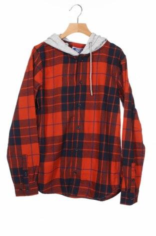Παιδικό πουκάμισο Jack & Jones, Μέγεθος 11-12y/ 152-158 εκ., Χρώμα Πολύχρωμο, Βαμβάκι, Τιμή 15,08€