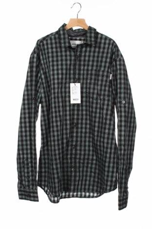 Παιδικό πουκάμισο Jack & Jones, Μέγεθος 11-12y/ 152-158 εκ., Χρώμα Πράσινο, Βαμβάκι, Τιμή 15,08€