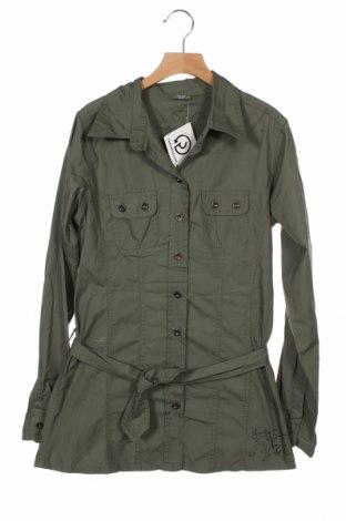 Παιδικό πουκάμισο Y.F.K., Μέγεθος 14-15y/ 168-170 εκ., Χρώμα Πράσινο, Βαμβάκι, Τιμή 5,26€