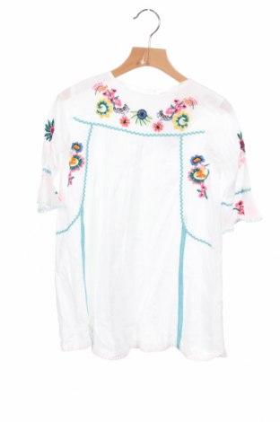 Детска рокля Crafted, Размер 4-5y/ 110-116 см, Цвят Бял, Памук, Цена 32,20лв.